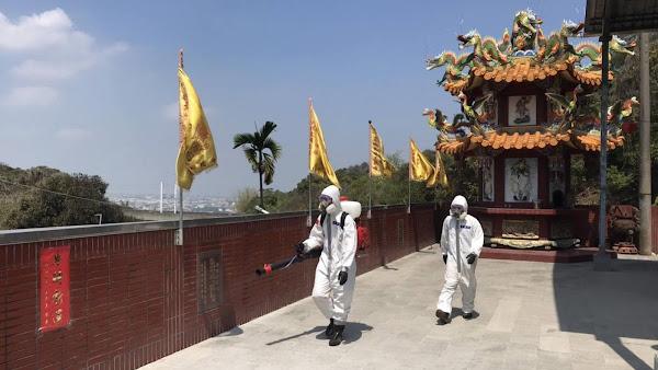 彰化確診足跡遍布員林市 陸軍36化學兵群地毯式消毒