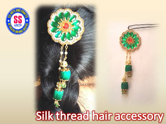 Here is silk thread jewellery making at home,how to make designer necklace making at home,silk thread anklets making at home,silk thread bridal bangles making at home,silk thread jhumkas making at home,silk thread ear chains making at home,How to make silk thread hair accessories at home