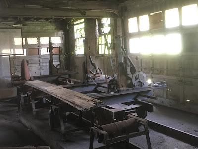 Belle Isle Sawmill Interior