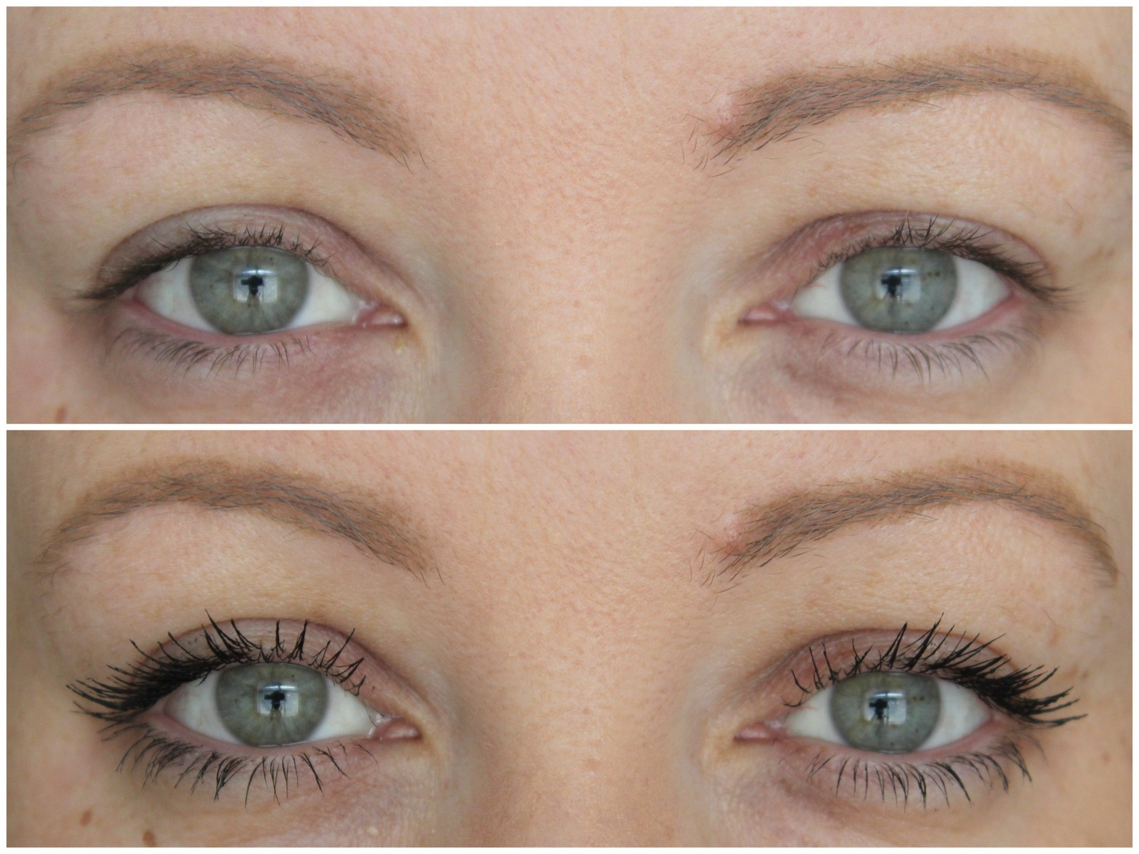 L Oreal Volume Million Lashes Feline Mascara Review Before After