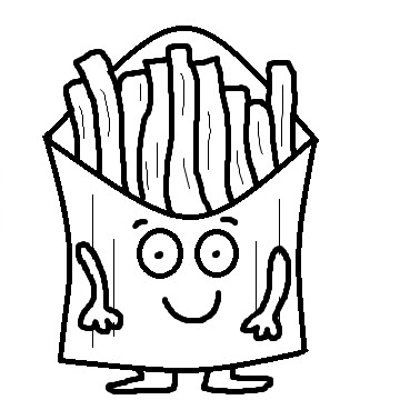 Church House Collection Blog: French Fries Clipart