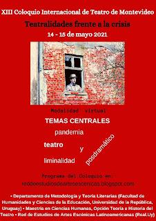 REAL en XIII Coloquio Internacional de Teatro de Montevideo.