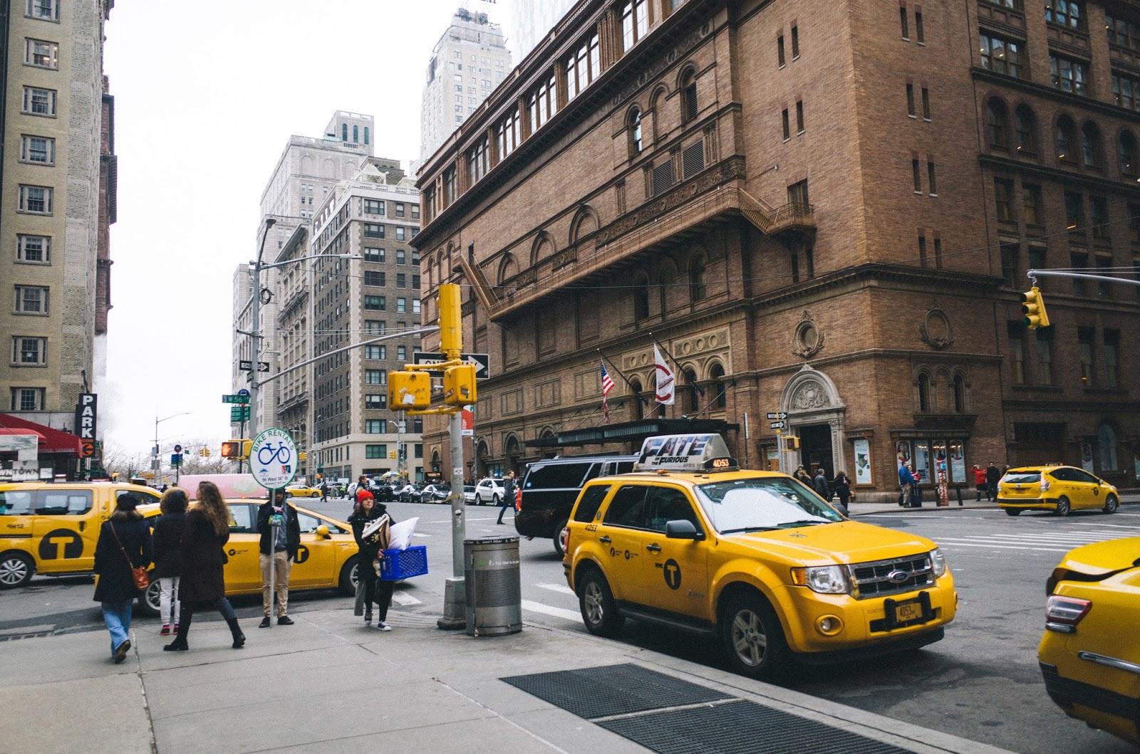 音楽の殿堂「カーネギー・ホール(Carnegie Hall)」 − ニューヨーク旅行