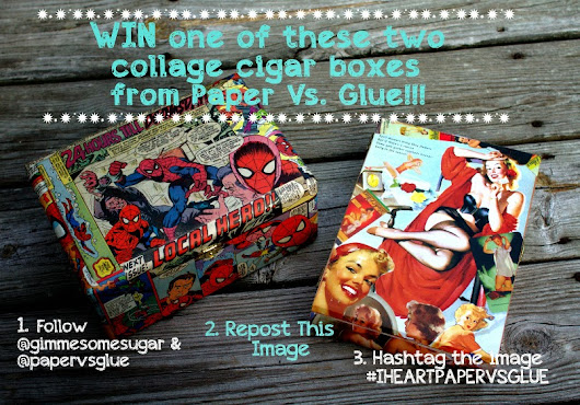Giveaway!! Enter to Win From Paper Vs Glue!