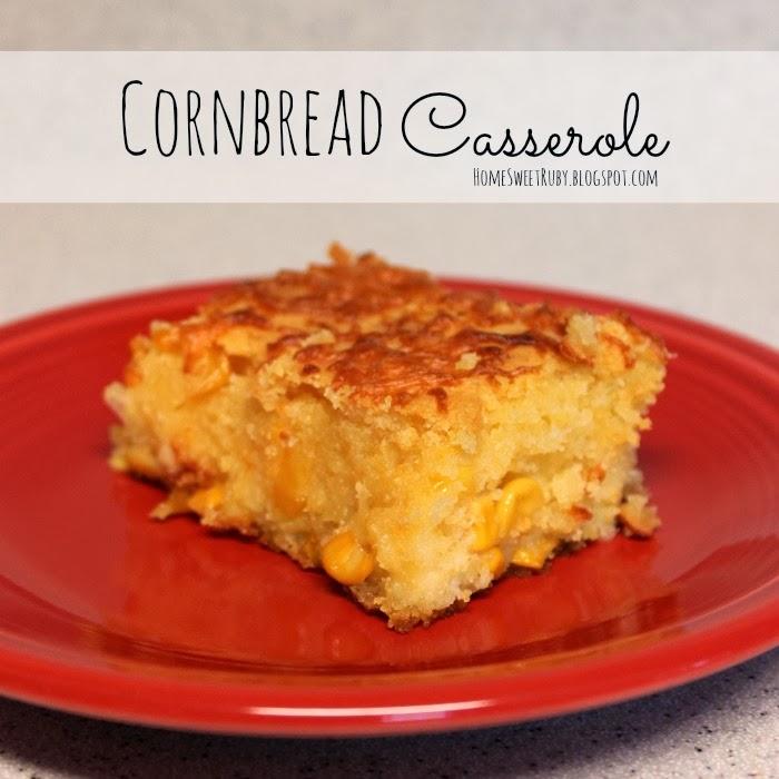 Favorite Thanksgiving Recipe :: Corn Casserole