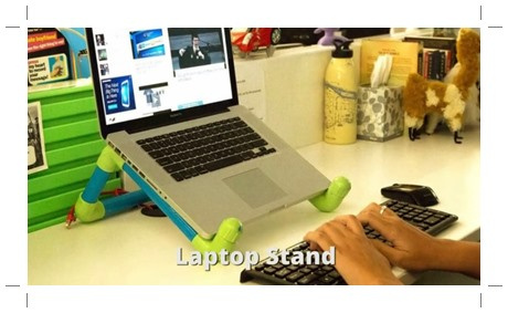 Laptop stand pipa air