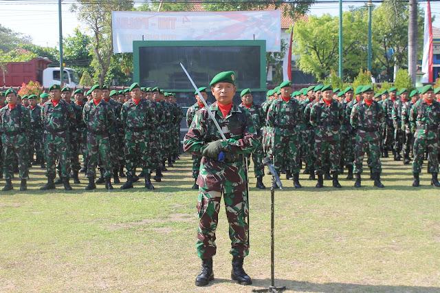 Upacara Peringatan HUT TNI Ke-74 Kodim Sragen Berlangsung Khidmat