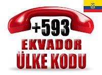 +593 Ekvador ülke telefon kodu