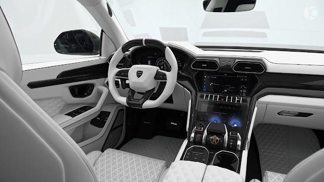 المواصفات الداخلية سيارة لامبورجيني اوروس 2021