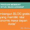 Tahapan membuat sebuah Blog