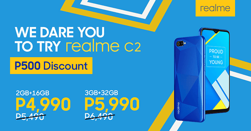 Non-realme phone users to get special discount for C2
