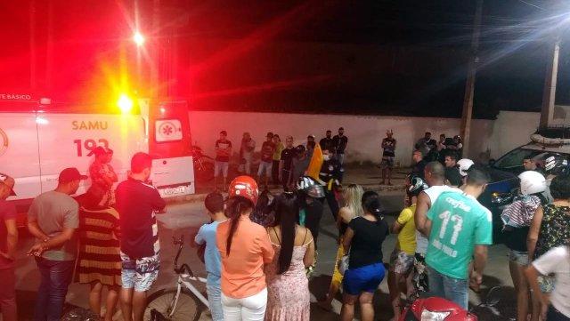 Acidente é registrado no Bairro Nova Santa Cruz, em Santa Cruz do Capibaribe