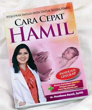 Buku Tips Cara Cepat Hamil Asli dr. Rosdiana
