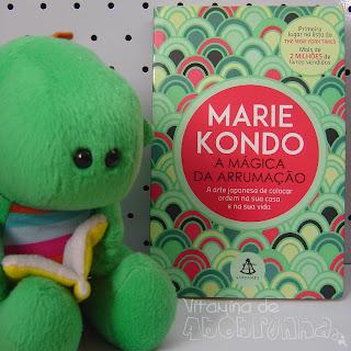 capa do livro A mágica da arrumação de Marie Kondo