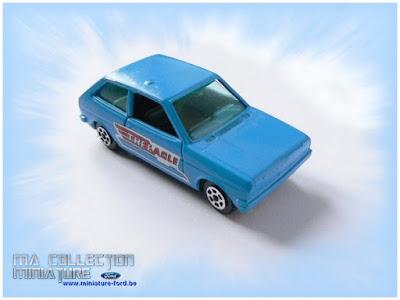 Guiloy, Ford Fiesta bleu
