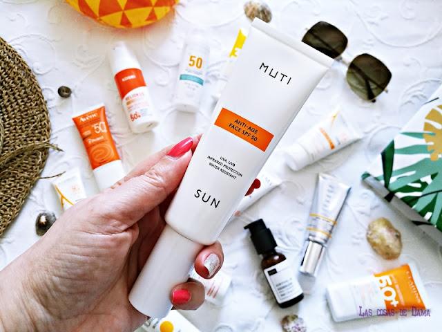 Anti-Age Face SPF50  Muti Protección Solar Facial antiaging antienvejecimiento sunprotect beauty salud belleza antiedad manchas