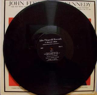 kennedy vinyl record