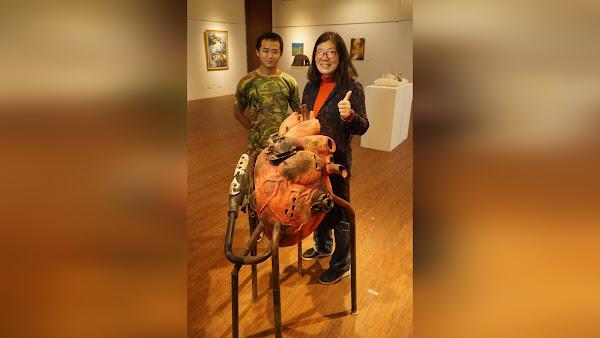 大葉大學造藝系美術節展覽 交流技藝