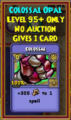Colossal - Wizard101 Card-Giving Jewel Guide