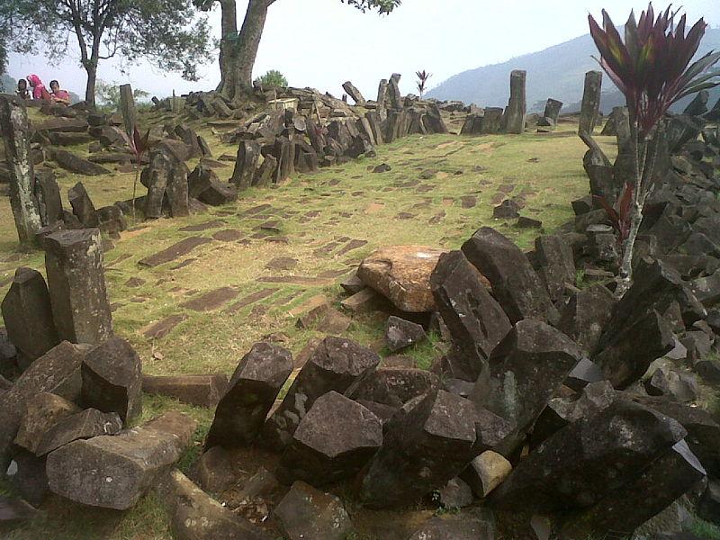 Temuan arkeolog di Gunung Padang terbilang mengejutkan