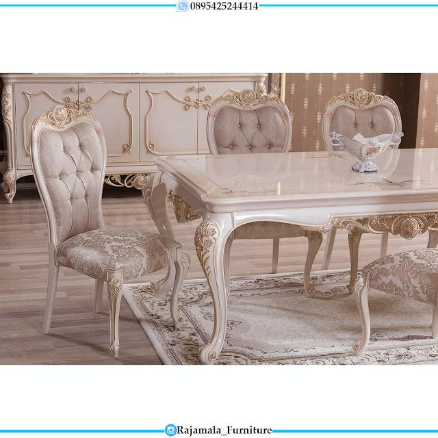 Promo Ramadhan Meja Makan Mewah Jepara Luxury Carving Classic RM-0601