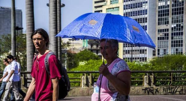 Cidade de São Paulo entra em estado de alerta por baixa umidade