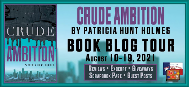 Crude Ambition book blog tour promotion banner