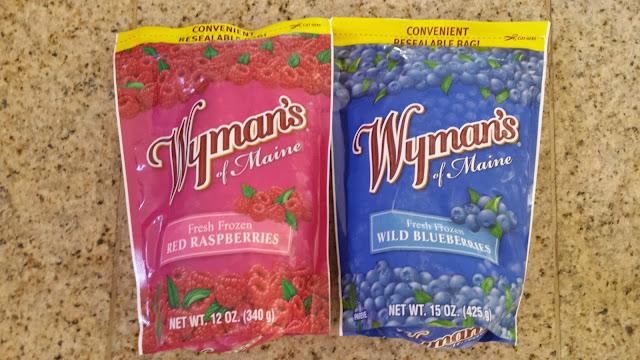 Wyman S Blueberries Versus Kitchen Blueberries