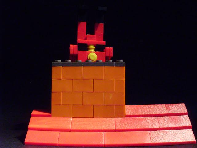 MOC LEGO Chegada do Pai Natal