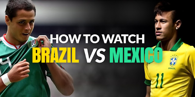 Live Brazil Vs Maxico Piala Dunia 2 Julai 2018