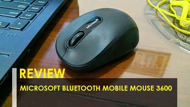 Review Microsoft Bluetooth Mobile Mouse 3600
