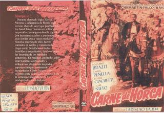 Carátula dvd: Carne de horca (1953)