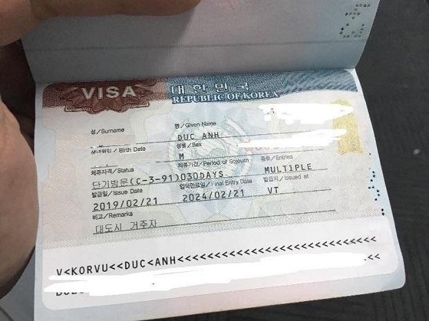 3 Bước xin Visa Hàn Quốc