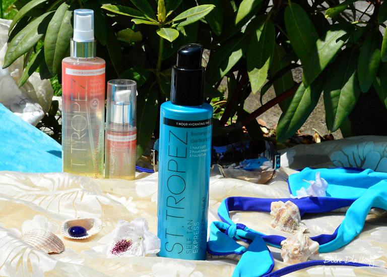 Kosmetyki St.Tropez - Express Bronzing Gel Żel samoopalający do ciała