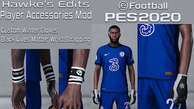 PES 2020 Player Accessories Mod by Hawke
