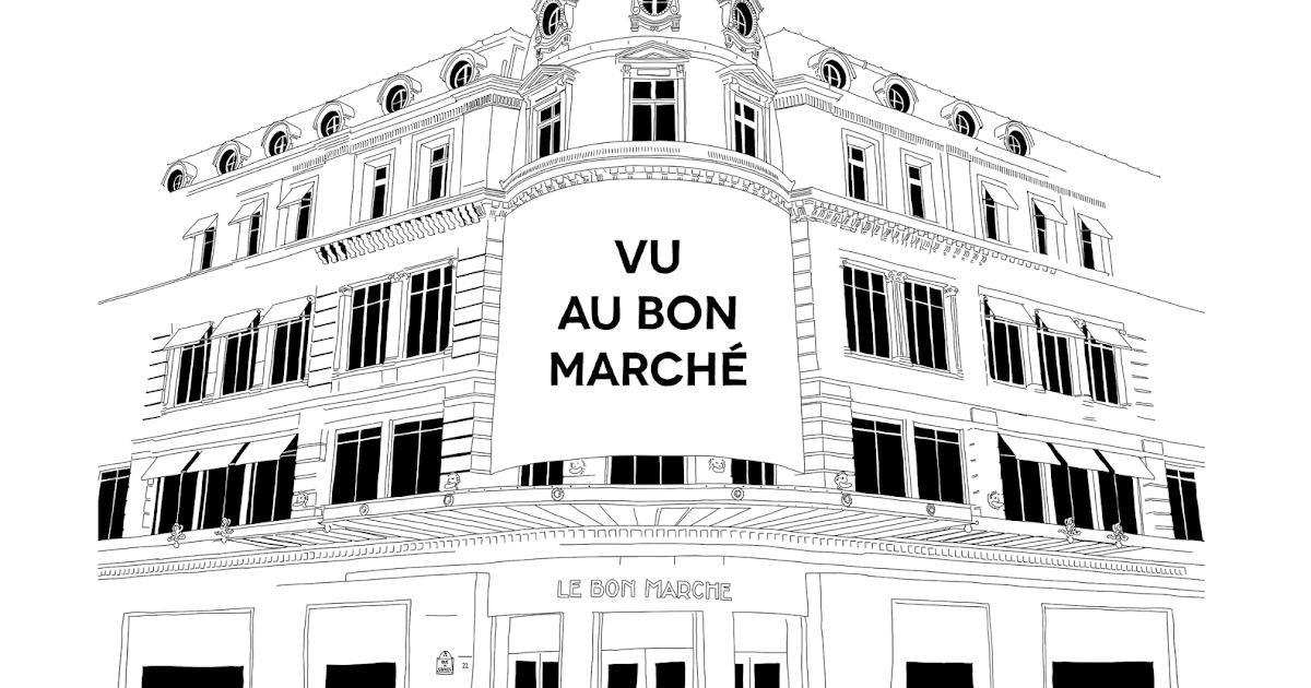 Margaux valluet vu au bon marche rive gauche expo paris - Le bon marche adresse ...