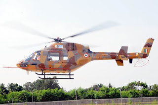 HAL developed Light Utility Helicopter