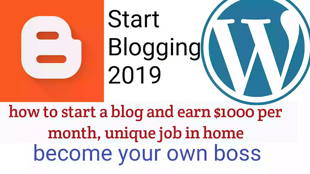 how to start a blog and earn $1000 per month, unique job in home, how to make money from Blogging, Blogging se paise kaise kamaye