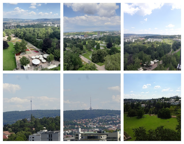Mirantes e vistas panorâmicas de Stuttgart - Killesbergturm