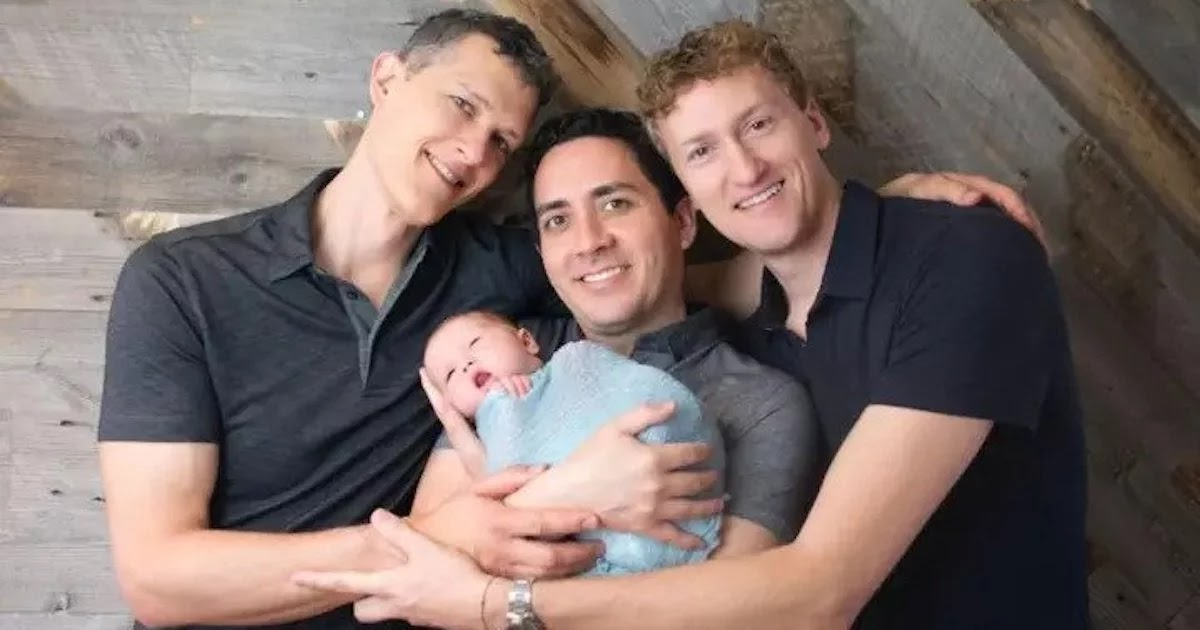 3 Men Become The First Throuple To Have Their Names Legally Put On A Child's Birth Certificate