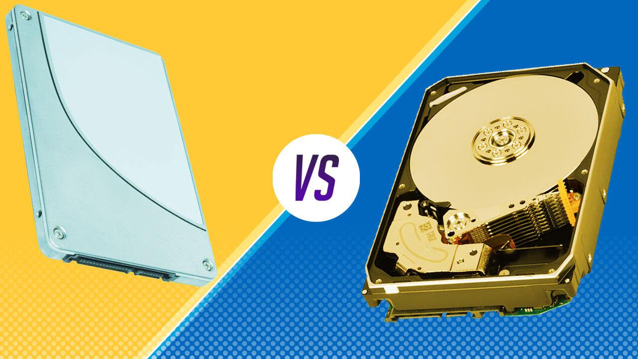 الفرق بين أقراص التخزين HDD و SSD و SSHD