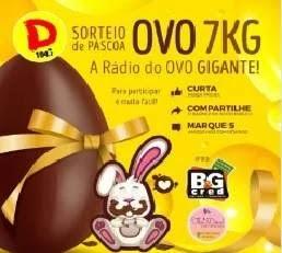 Promoção Dinâmica FM Ovo Gigante 7KG Páscoa 2020