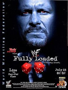 WWE / WWF - Fully Loaded 2000 - Event poster