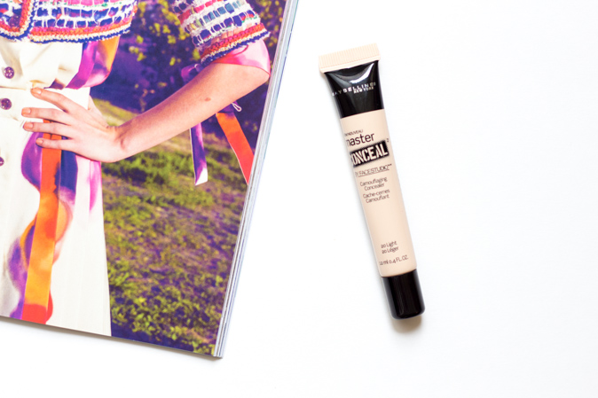 maybelline master conceal camoflaging concealer 20 light review