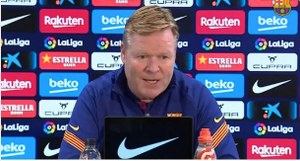 Koeman believes Barcelona can still win La Liga despite recent slump