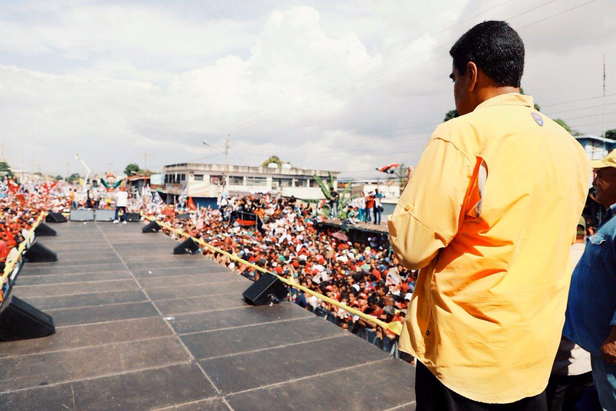 Maduro en plena campaña para las eleccioens de este domingo / TWITTER PRENSA PRESIDENCIAL VENEZUELA