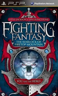 Fighting Fantasy - The Warlock of Firetop Mountain PSP PPSSPP