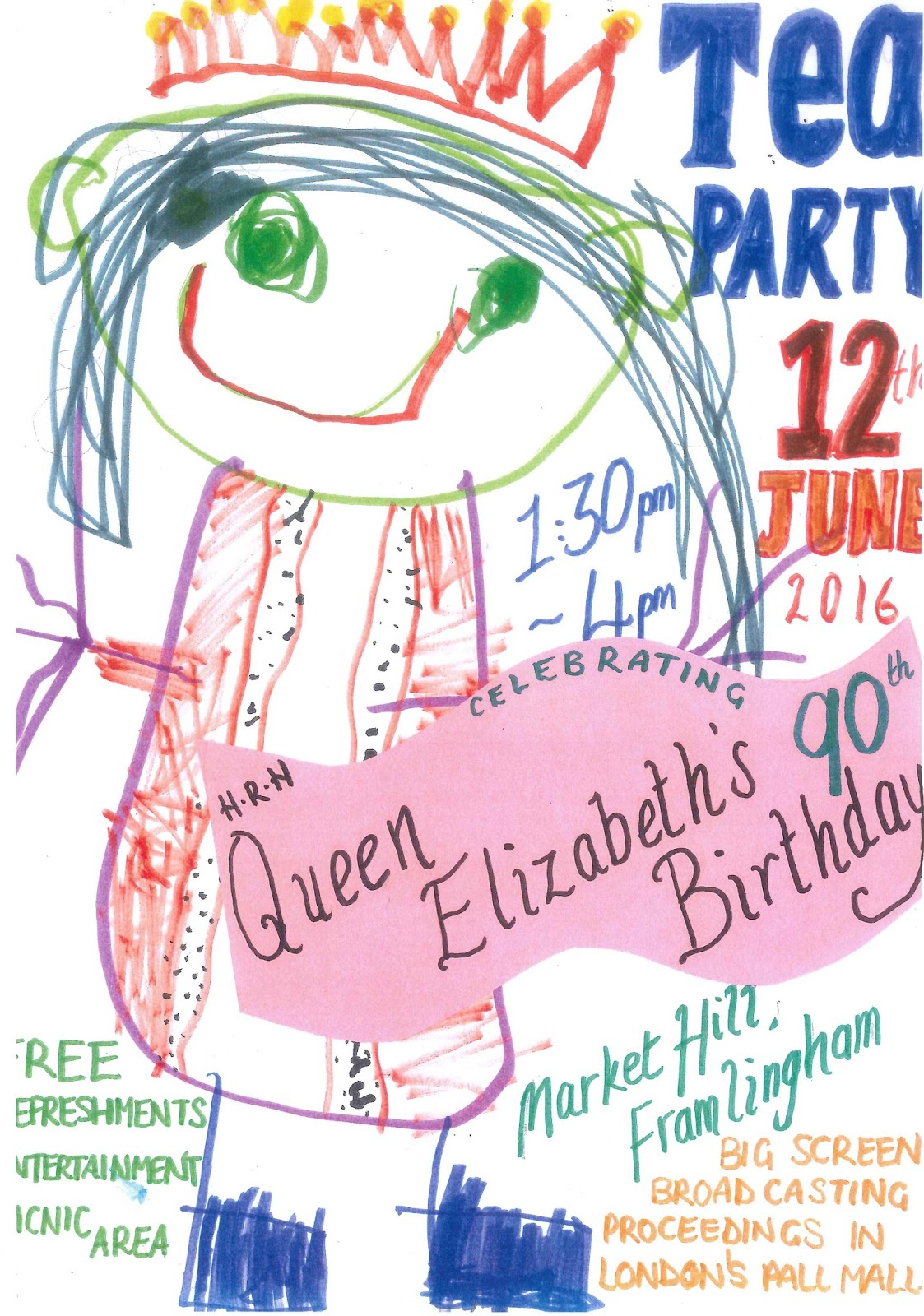 Hitcham's Blog: The Queen's 90th Birthday Celebration
