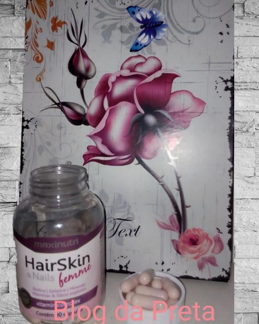 Crescimento de cabelos com HairSkin Nails