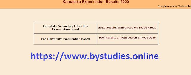 Karnataka KSEEB SSLC 10th Result 2020 declared